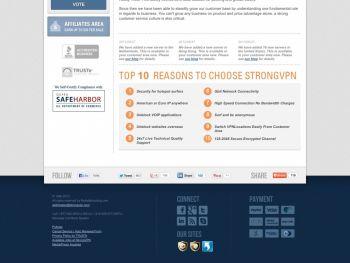 strongvpn.com Screenshot